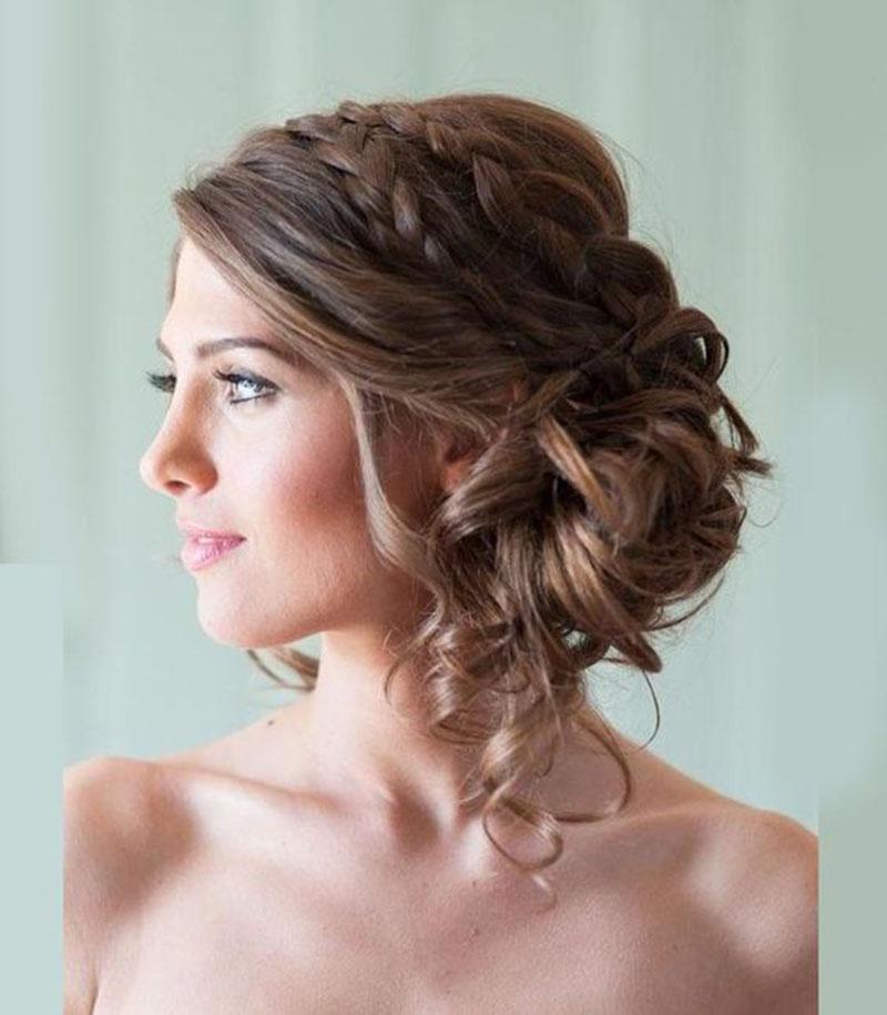 penteados para madrinhas de casamento 2020