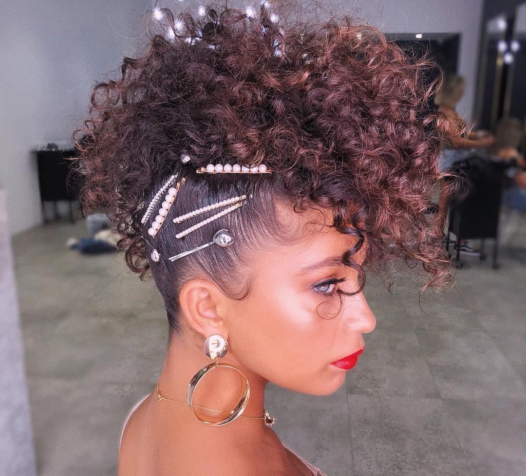Penteados Para Cabelos Cacheados 2020 Fotos Passos