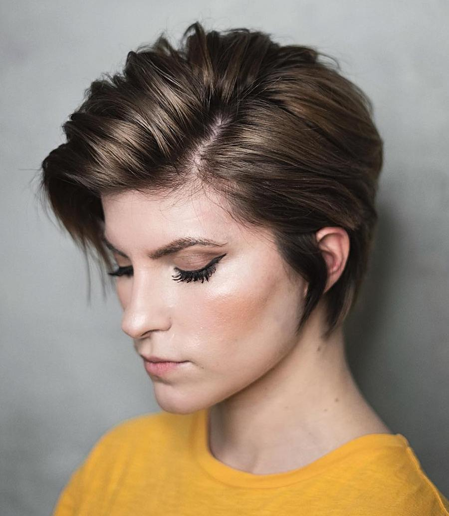 Corte Long Pixie Cut 2020