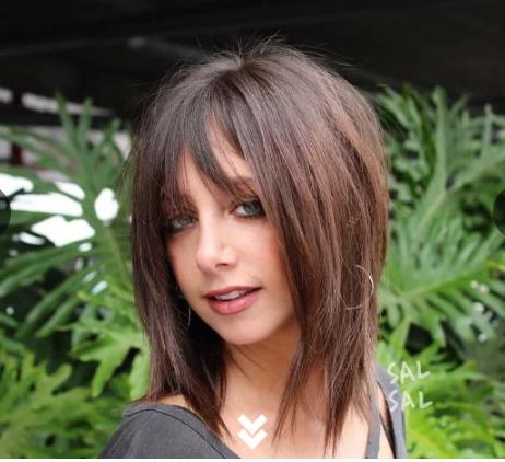 cortes para cabelo liso 2021